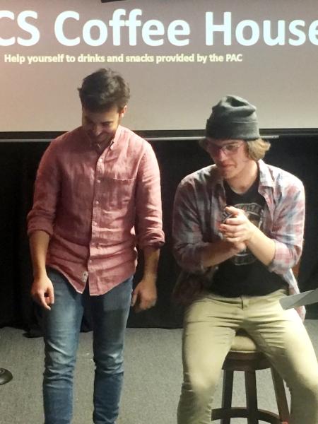 Emcees Noah & Zach