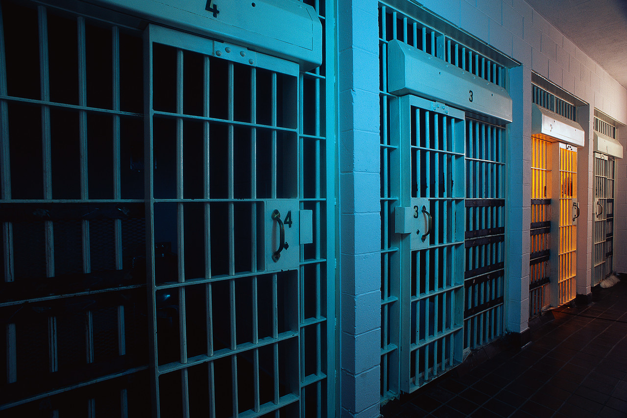 Row of Jail Cells