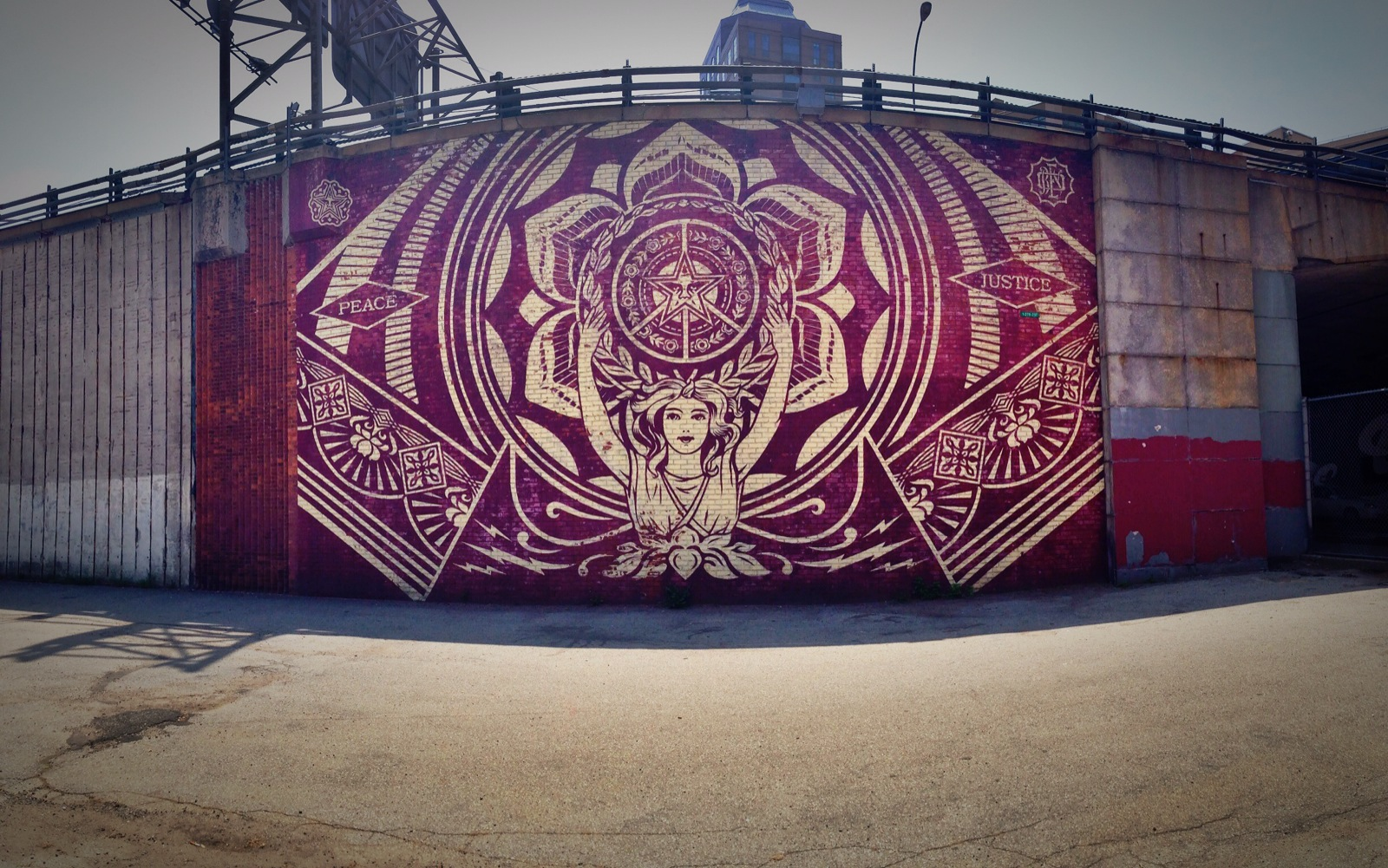 Obey Giant Graffiti (Brooklyn, NYC)