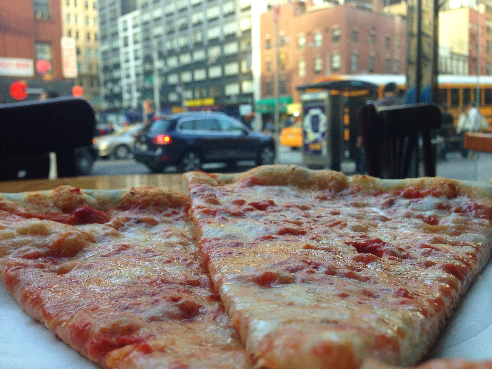 Pizza in the City
