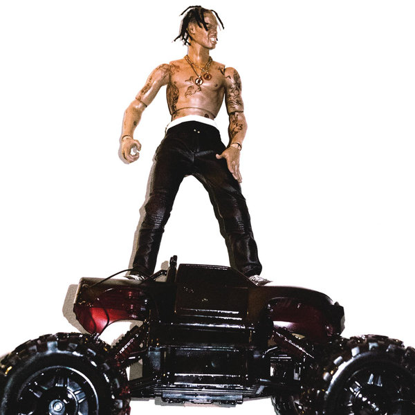 Travis Scott |   Rodeo   Favorite Songs:  Oh My Dis Side, Apple Pie, Nightcrawler  Travis Scott has been on the come up for a while now. I started listening to him this year. Apple Pie is one of my favorite tracks from the anticipated album,  Rodeo . Travis Scott has a distinct sound and brings a ton energy to every performance. Seriously,  youtube a performance  and you will see him and the audience bouncing around the whole time. Not only does Travis produce some of his music, he is making his way into the fashion world as well. One of my favorite quotes is listed below. The line expresses Travis' need to stay surrounded only by people want to succeed just as bad as him.