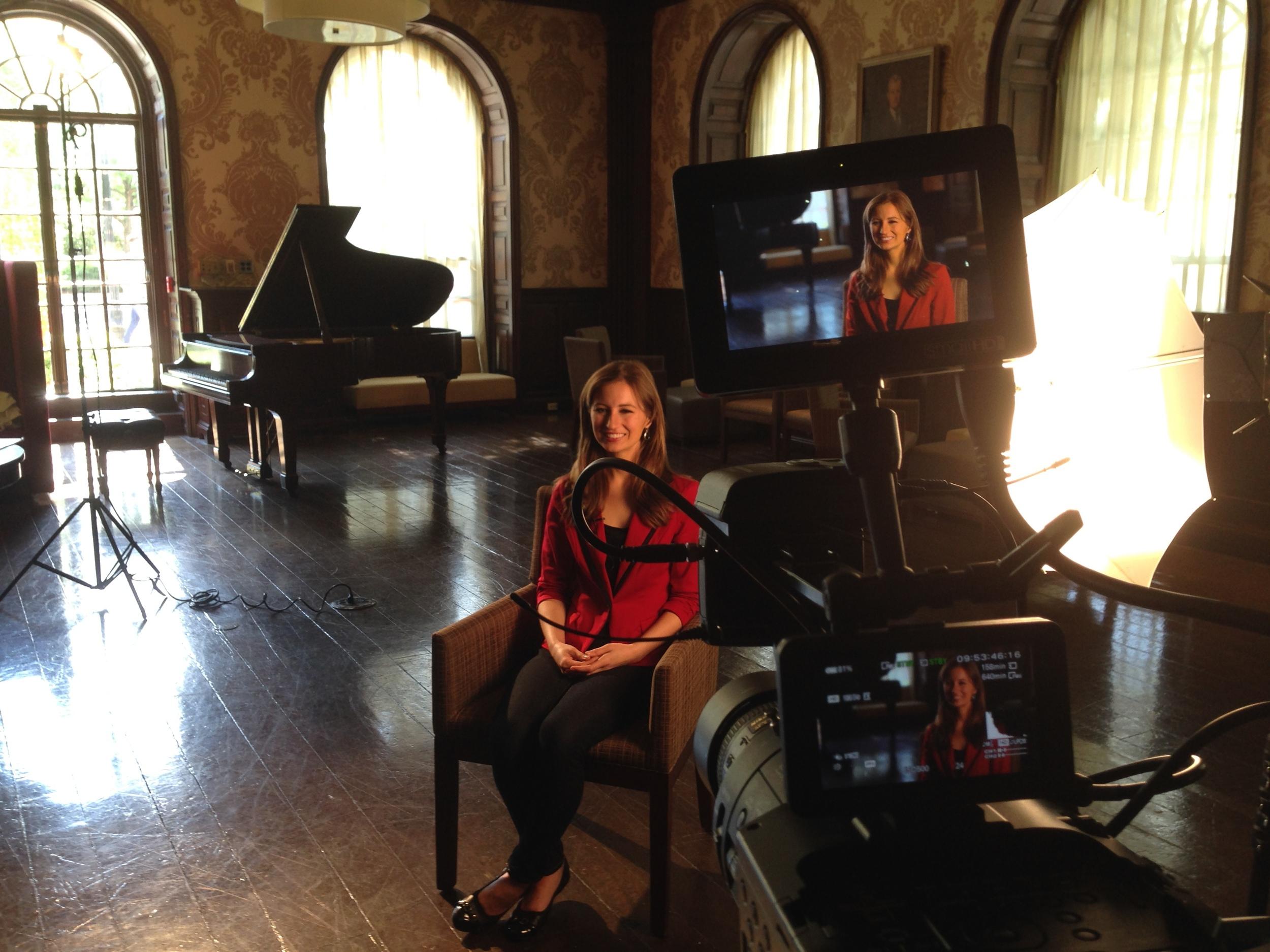 Behind the scenes with Lauren Kuhn, Miss Massachusetts 2014. Render Edge Media