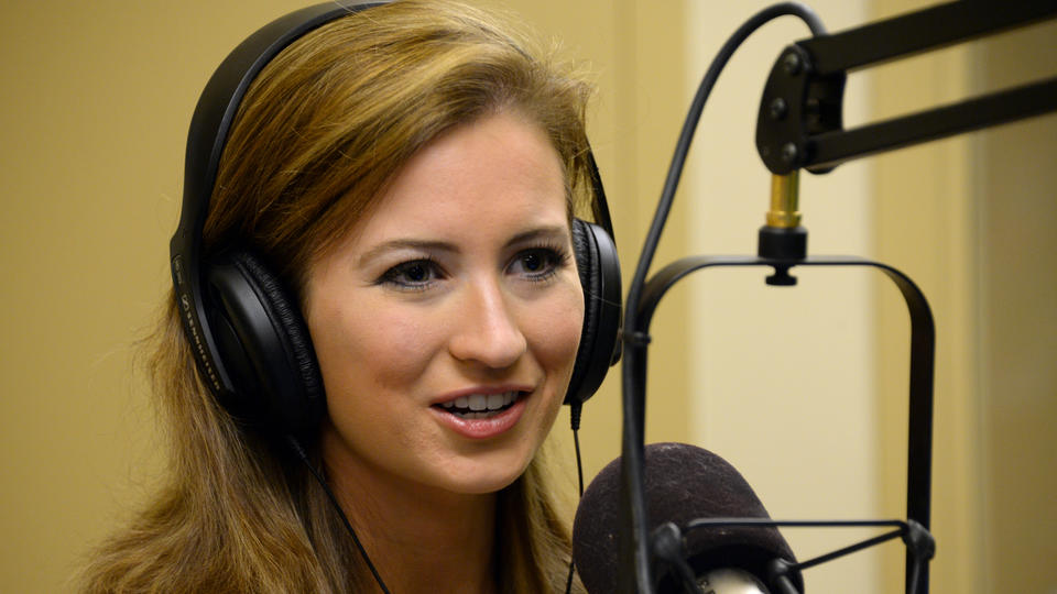 SPEAKING OUT: Lauren Kuhn, Miss Massachusetts, visits Boston Herald Radio October 3, 2014