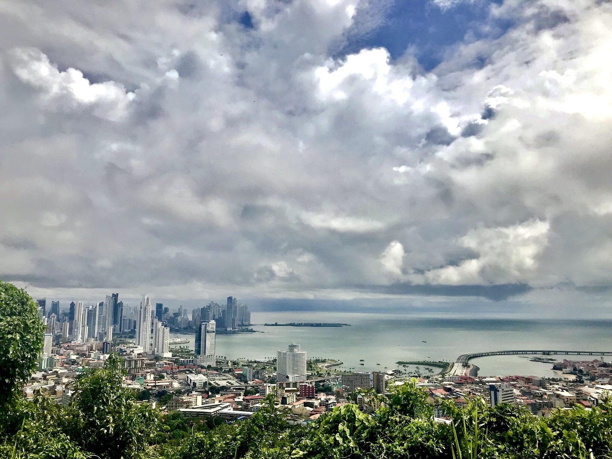 Orla da Ciudad do Panamá, capital do Panamá
