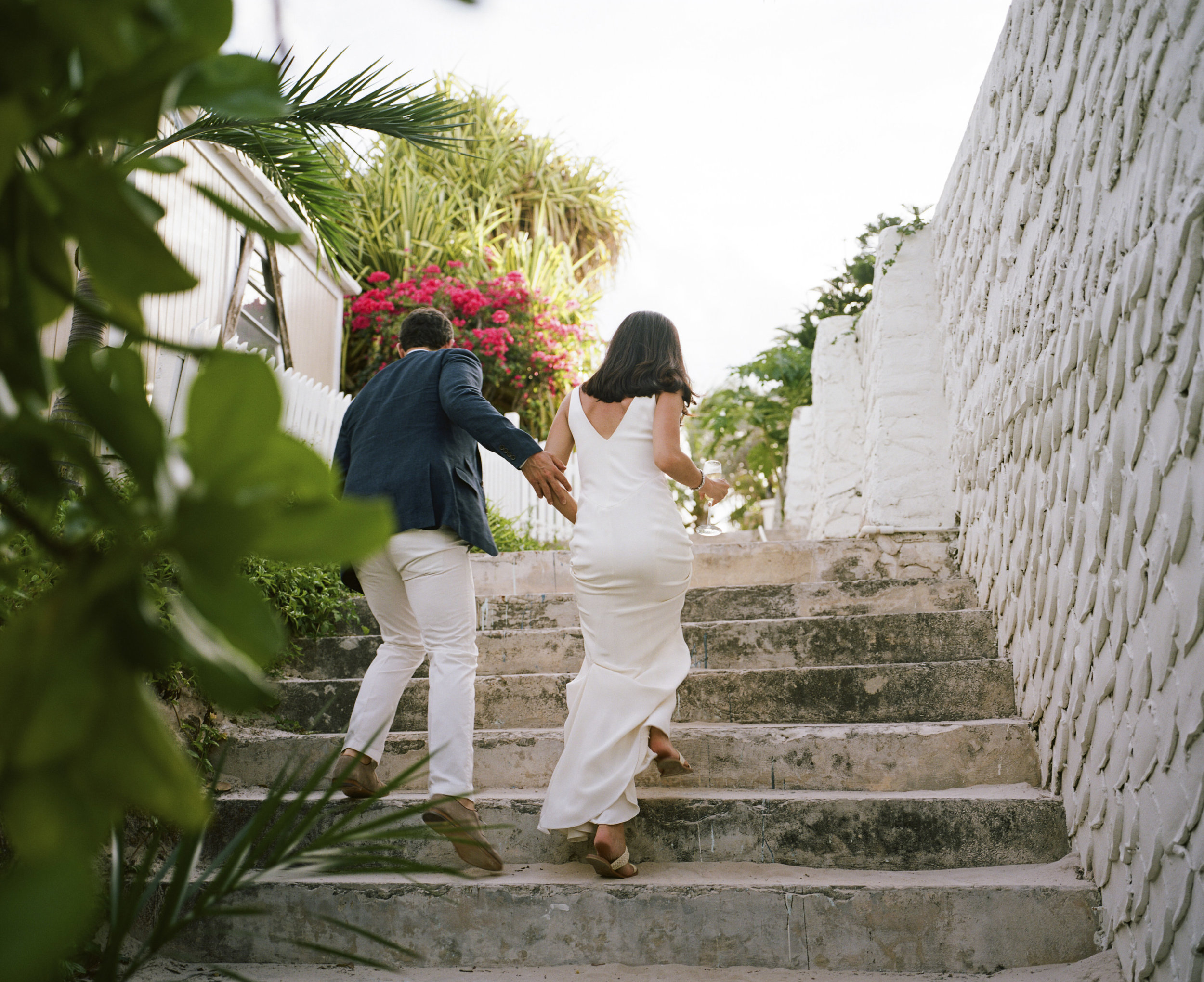 Peter & Steph - Harbour Island, The Bahamas