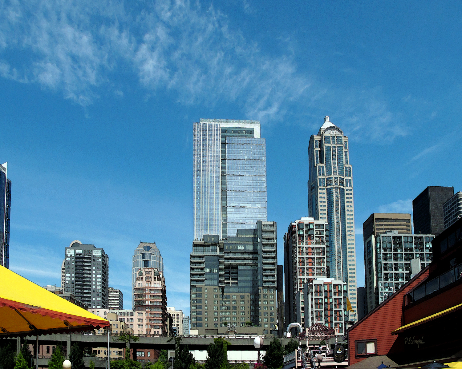 The Seattle Water Front