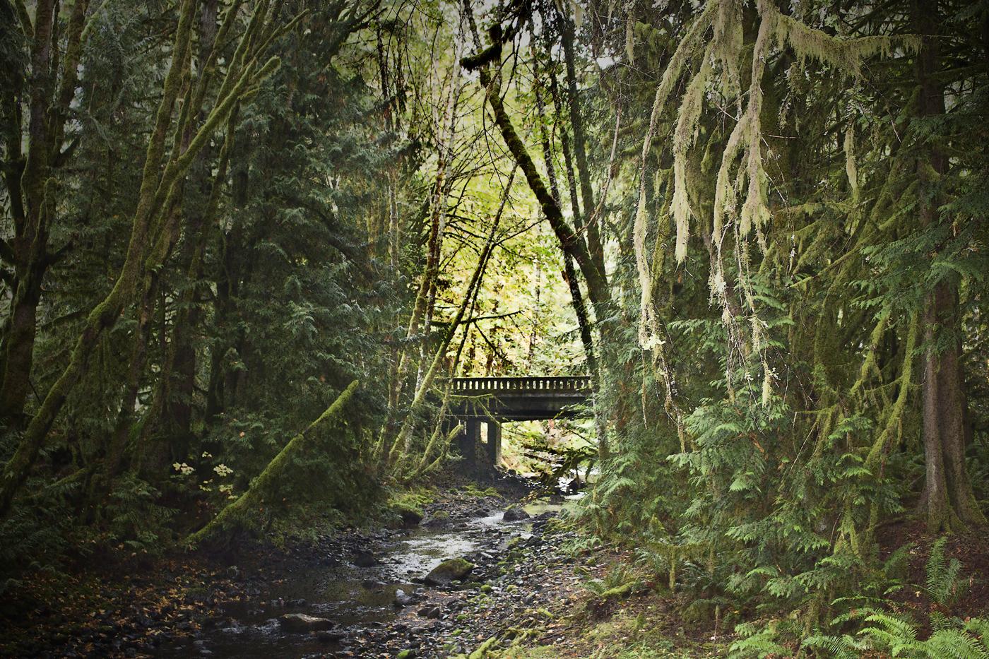Bridge Across A Creek