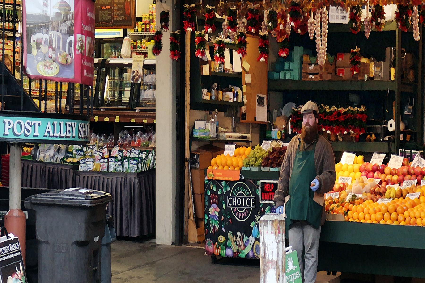 Post Alley Market