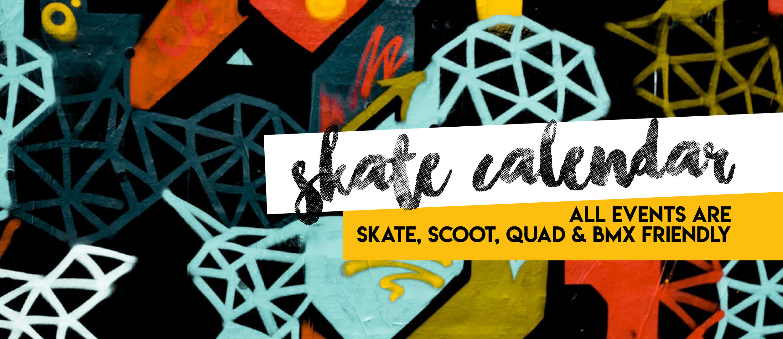 2019 Skate Calendar - March - December