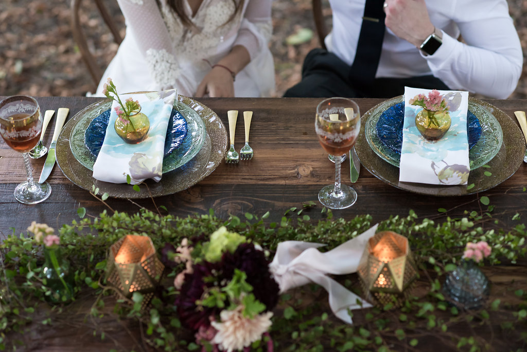 Styled sweetheart table by us - photo by Heidi Heaphy