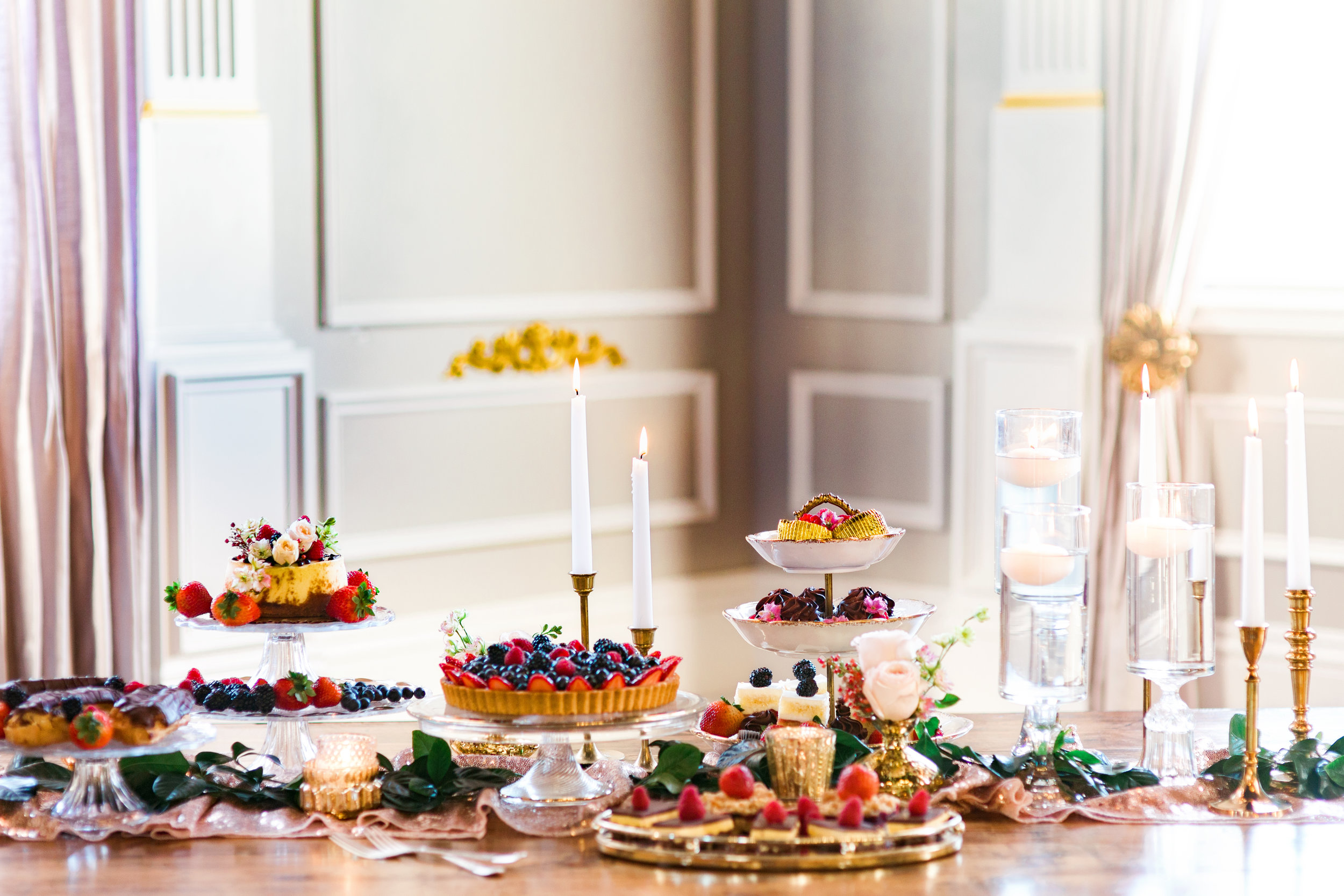 Power of Love Rentals Styled Dessert Table