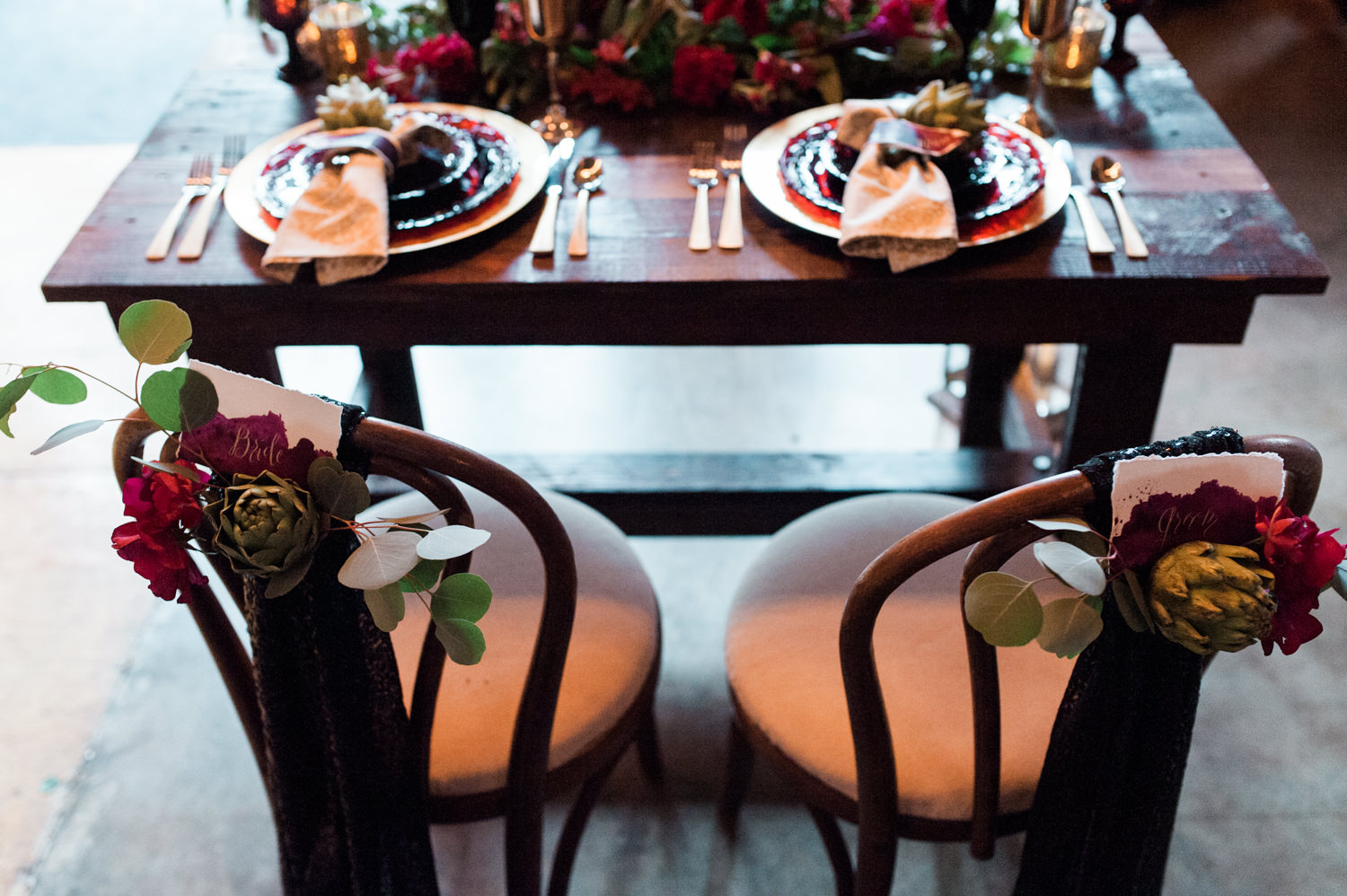 Power of Love Rentals Sweetheart Chairs