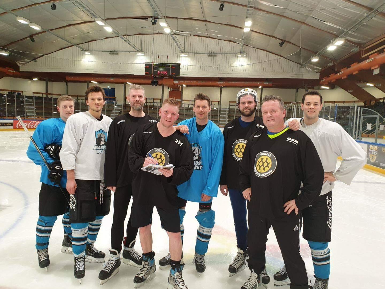Foraas utfordret Nidaros Hockey til en aldri så liten kamp.. det gikk som det gikk :-)