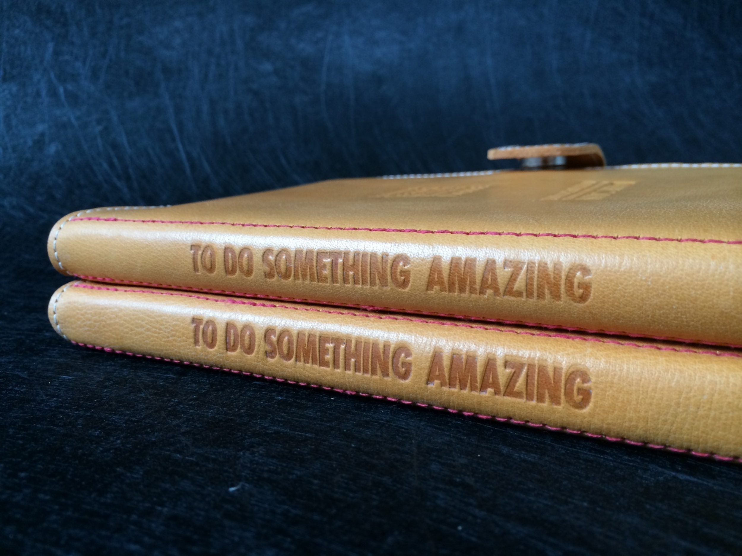 A5 leather notebook cover  ©FizzArrow
