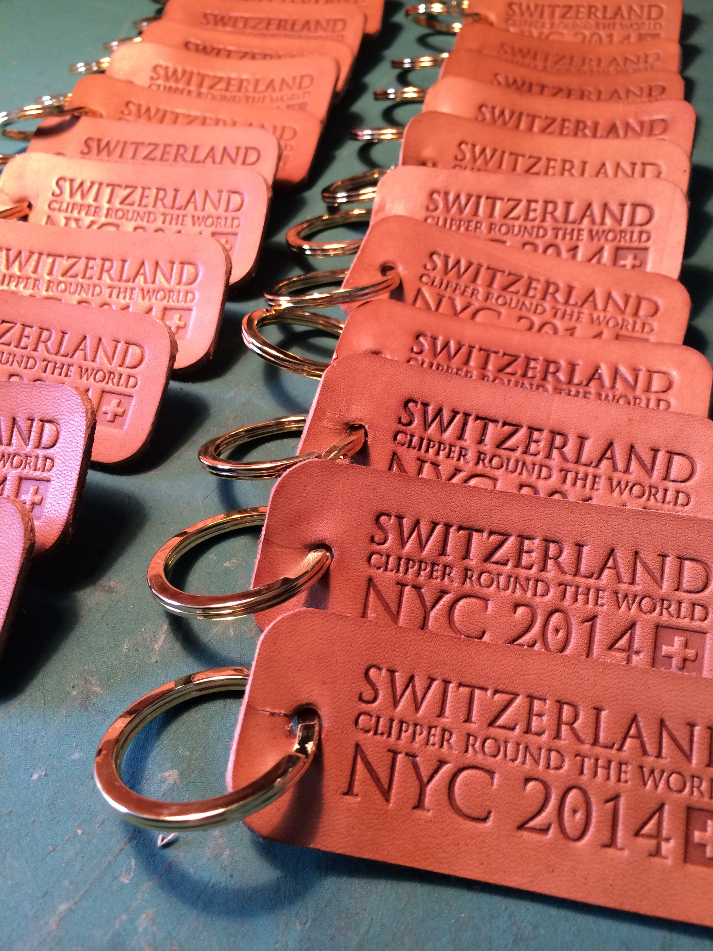 Finished Key rings  ©FizzArrow