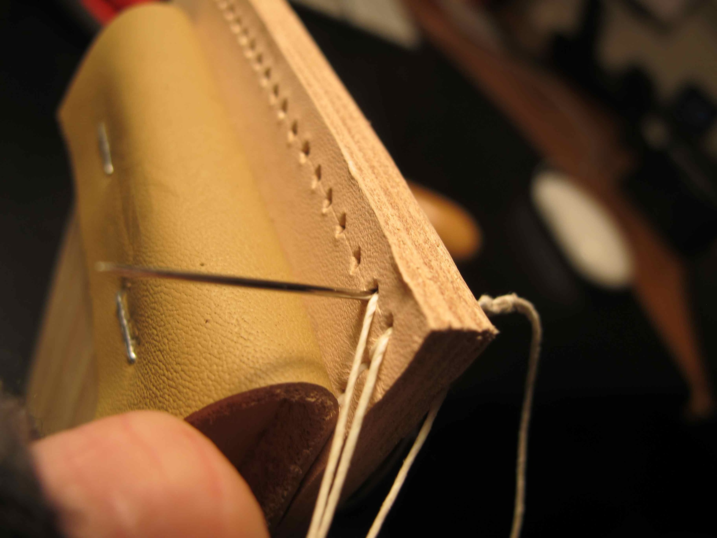 Hand stitching  ©FizzArrow