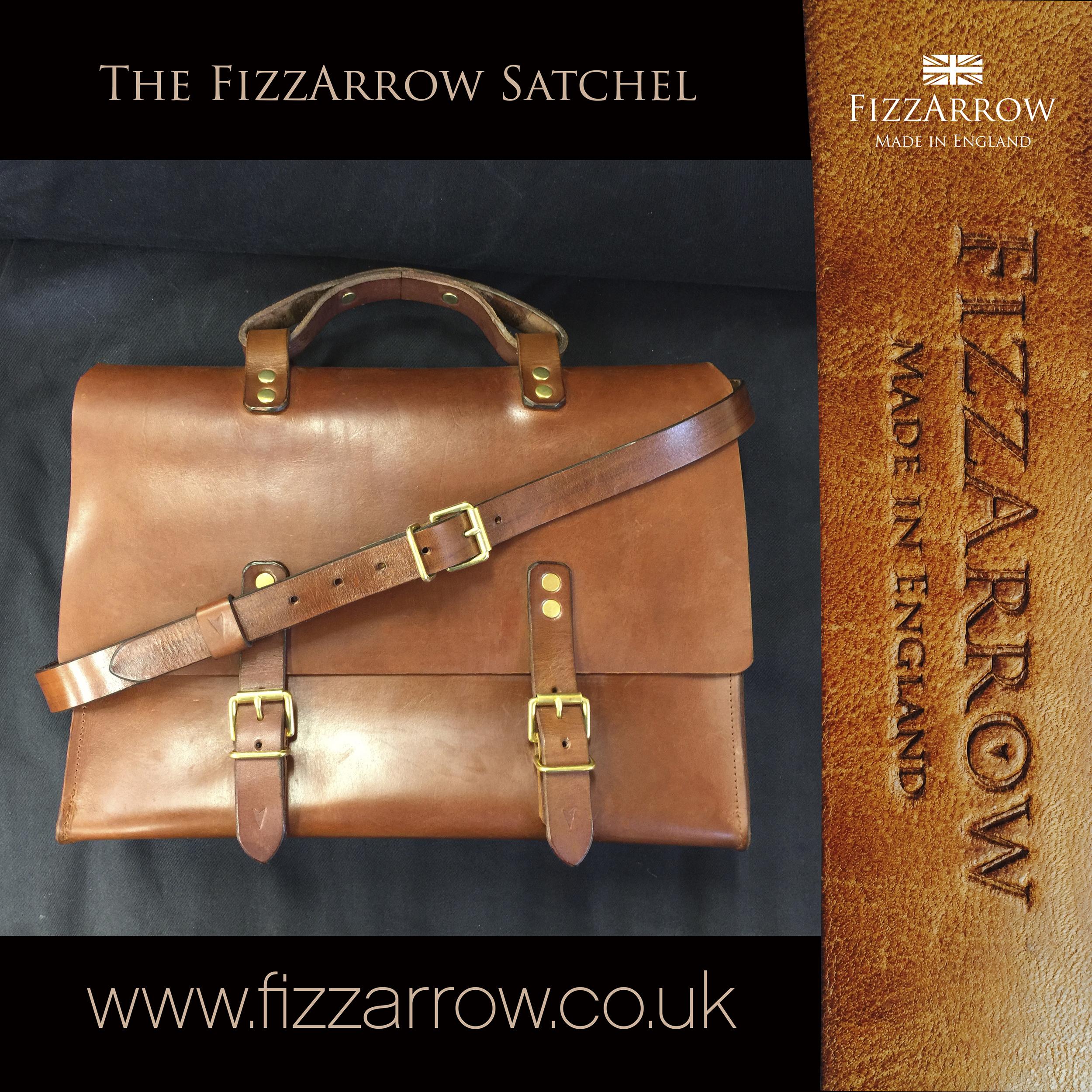 © The FizzArrow Satchel  ©FizzArrow images