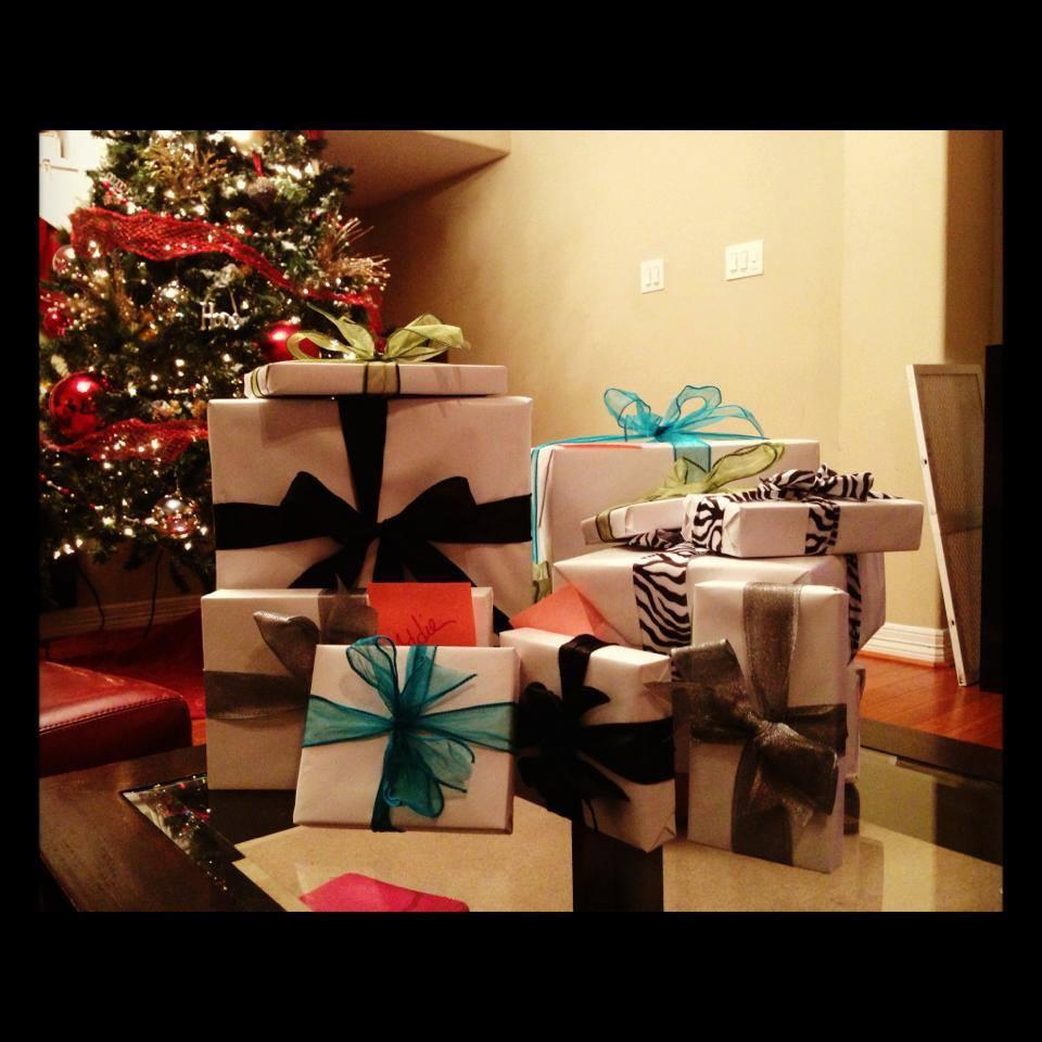 A black & white Christmas