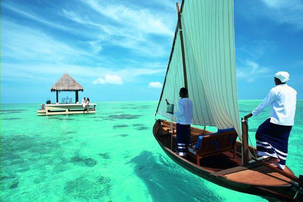 Taj Exotica Maldives Dining Experience