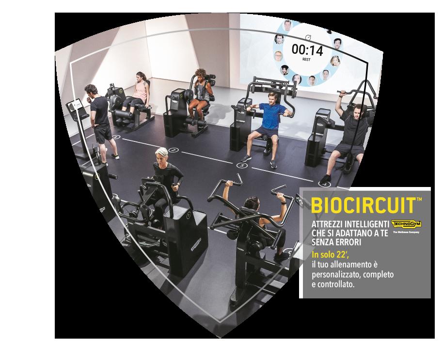 BIOCIRCUIT allenamento sicuro nella palestra SAFE GYM dell'Ospedale di Legnano. In solo 22 minuti, il tuo allenamento è personalizzato, completo e controllato. % programmi di allenamento: movimento, tonificazione, fitness, dimagrimento, potenziamento.