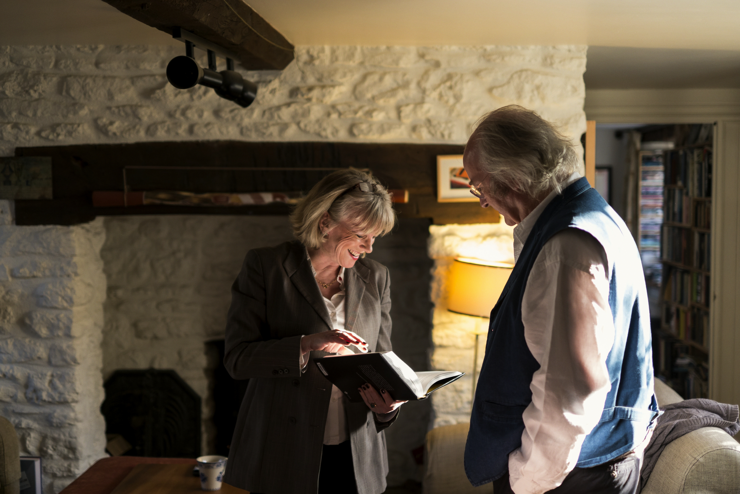 Val Coward (Producer) & Philip Pullman (Author)