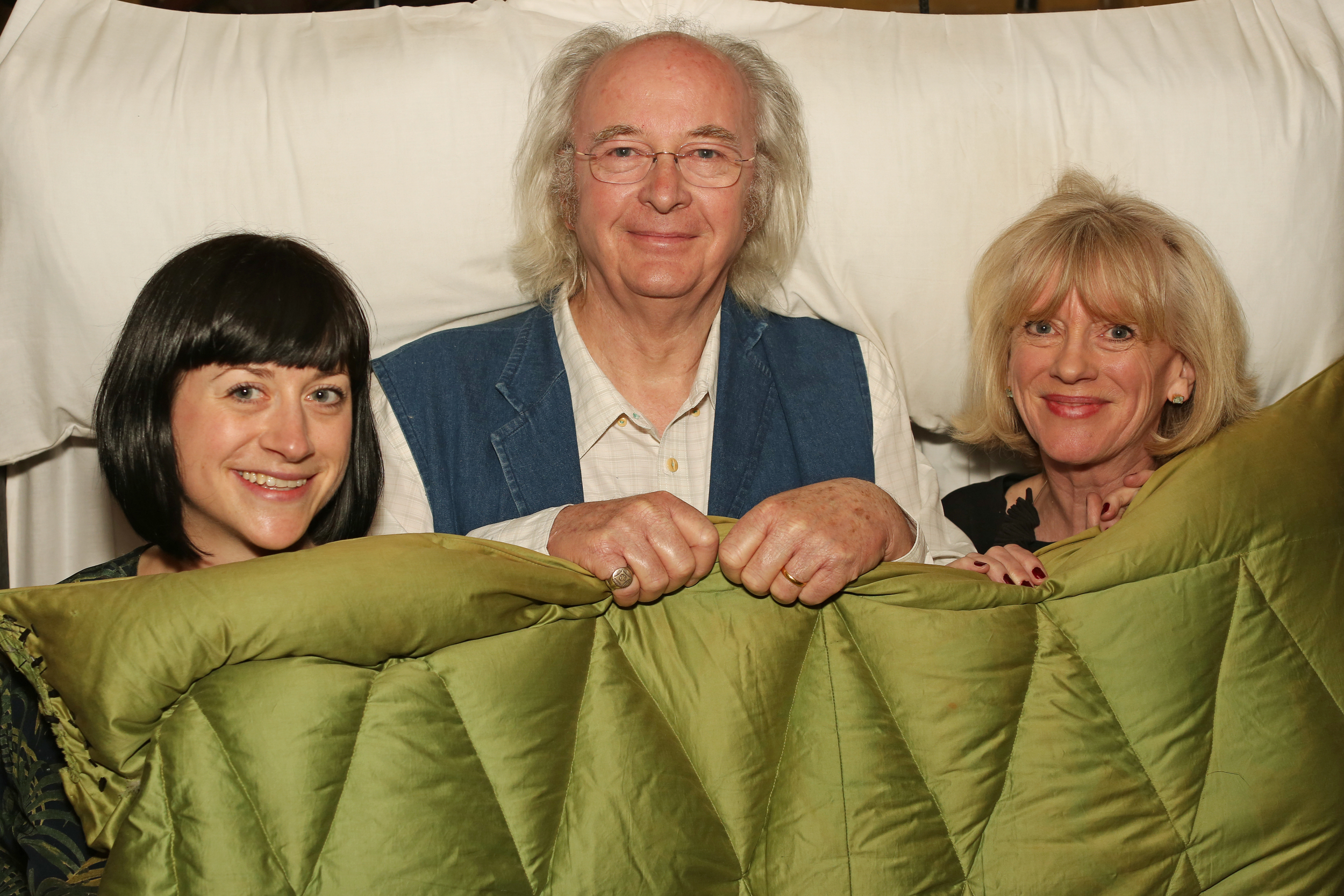 Cat Botibol (Exec Producer), Philip Pullman (Author) & Val Coward (Producer)