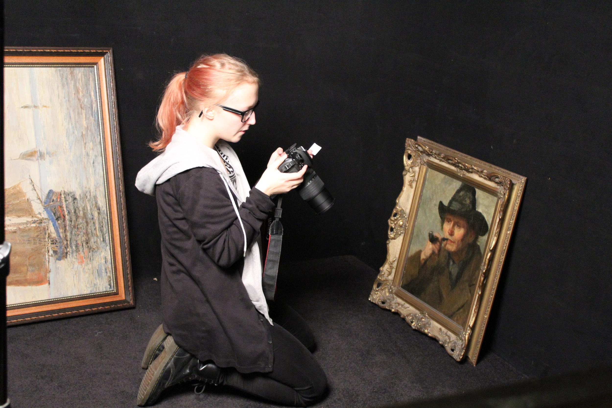 Fotopraktik i Düsseldorf för Lisa från Kungstensgymnasiet.