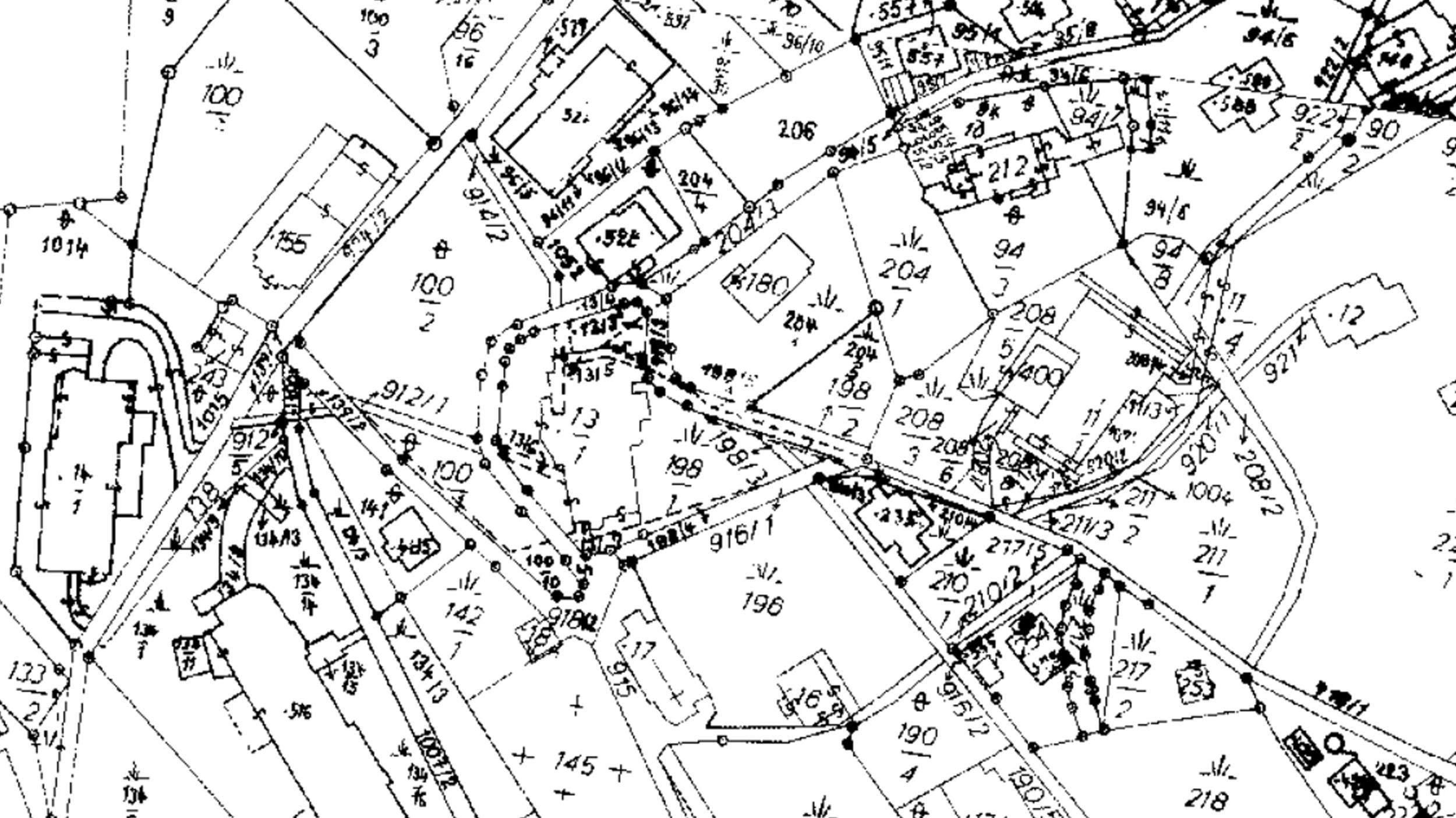 analýza pozemků