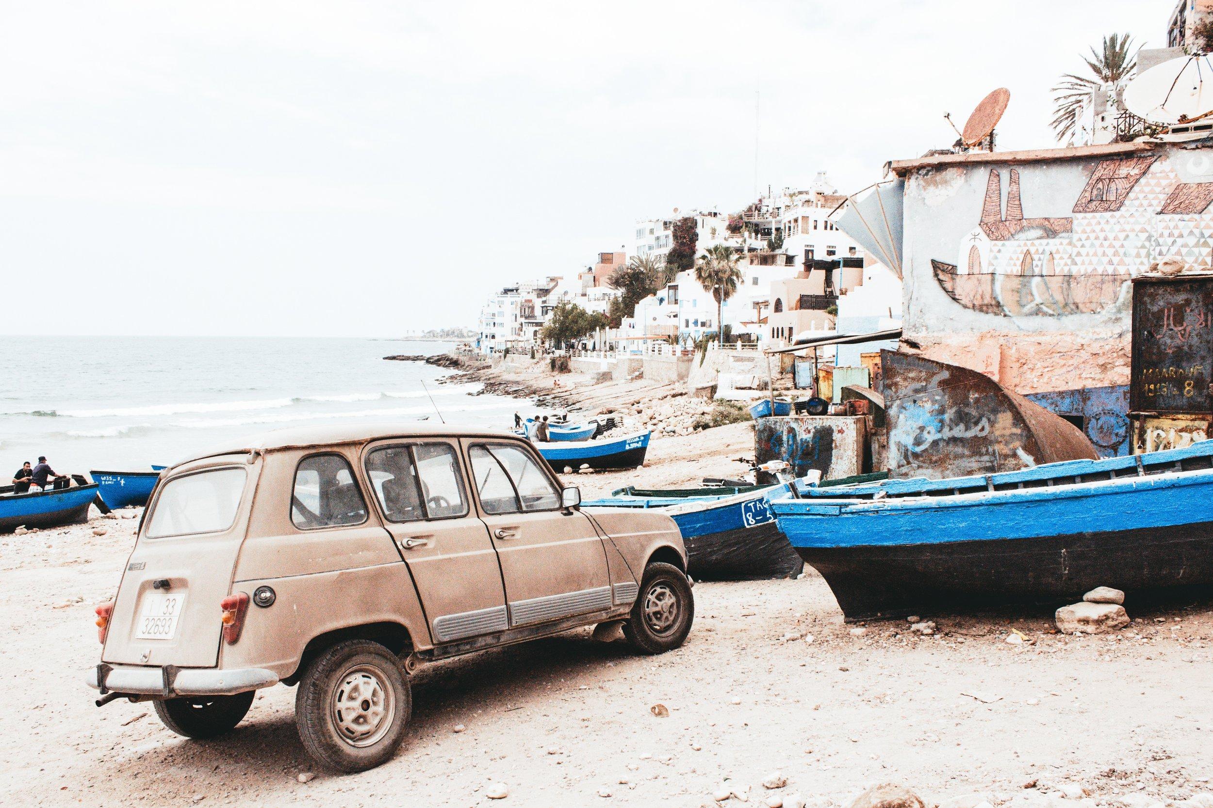 Une petite pause sur la route Tangéroise?