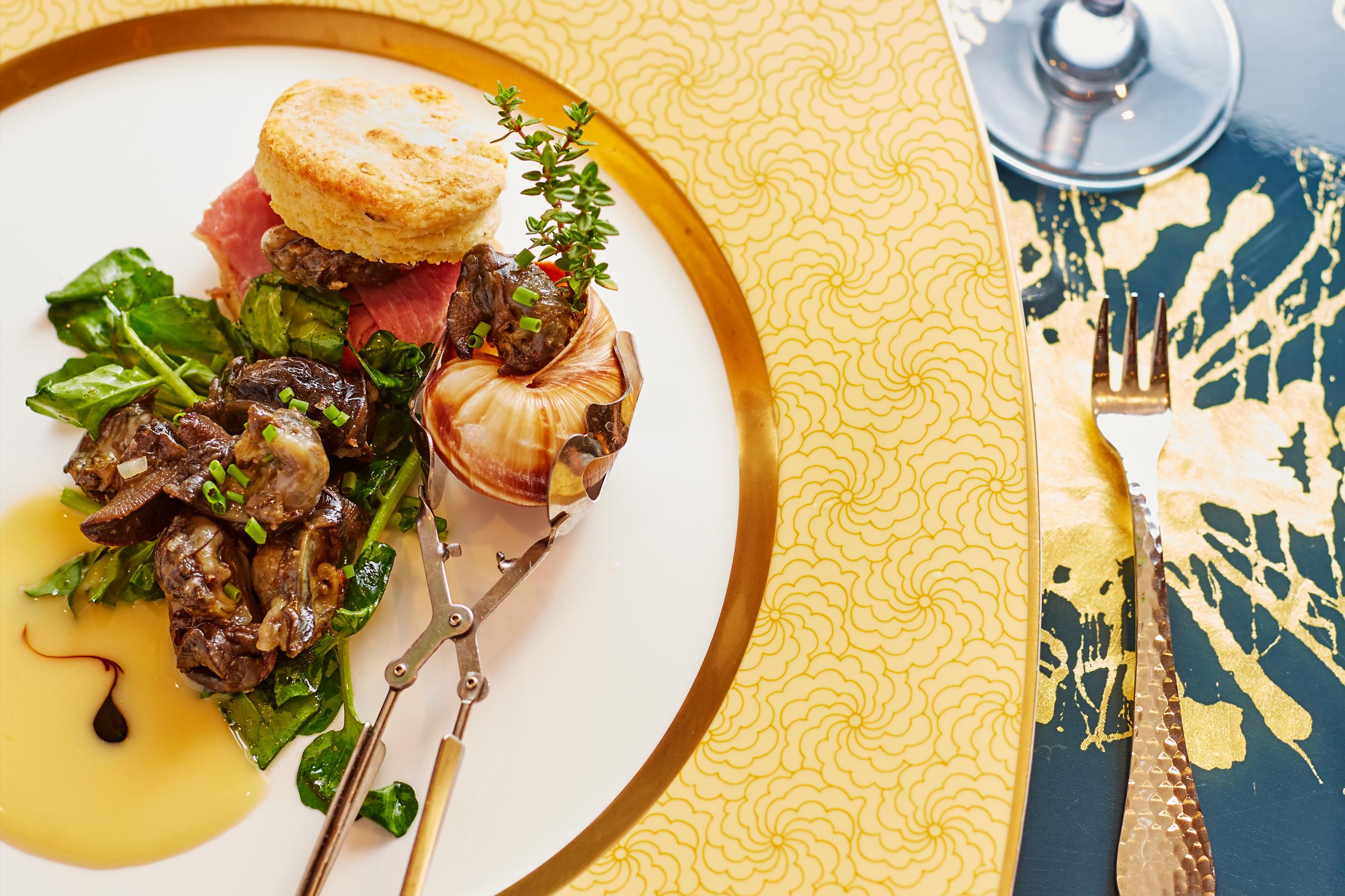 Escargot a la Ham Biscuit Appetizer .jpg