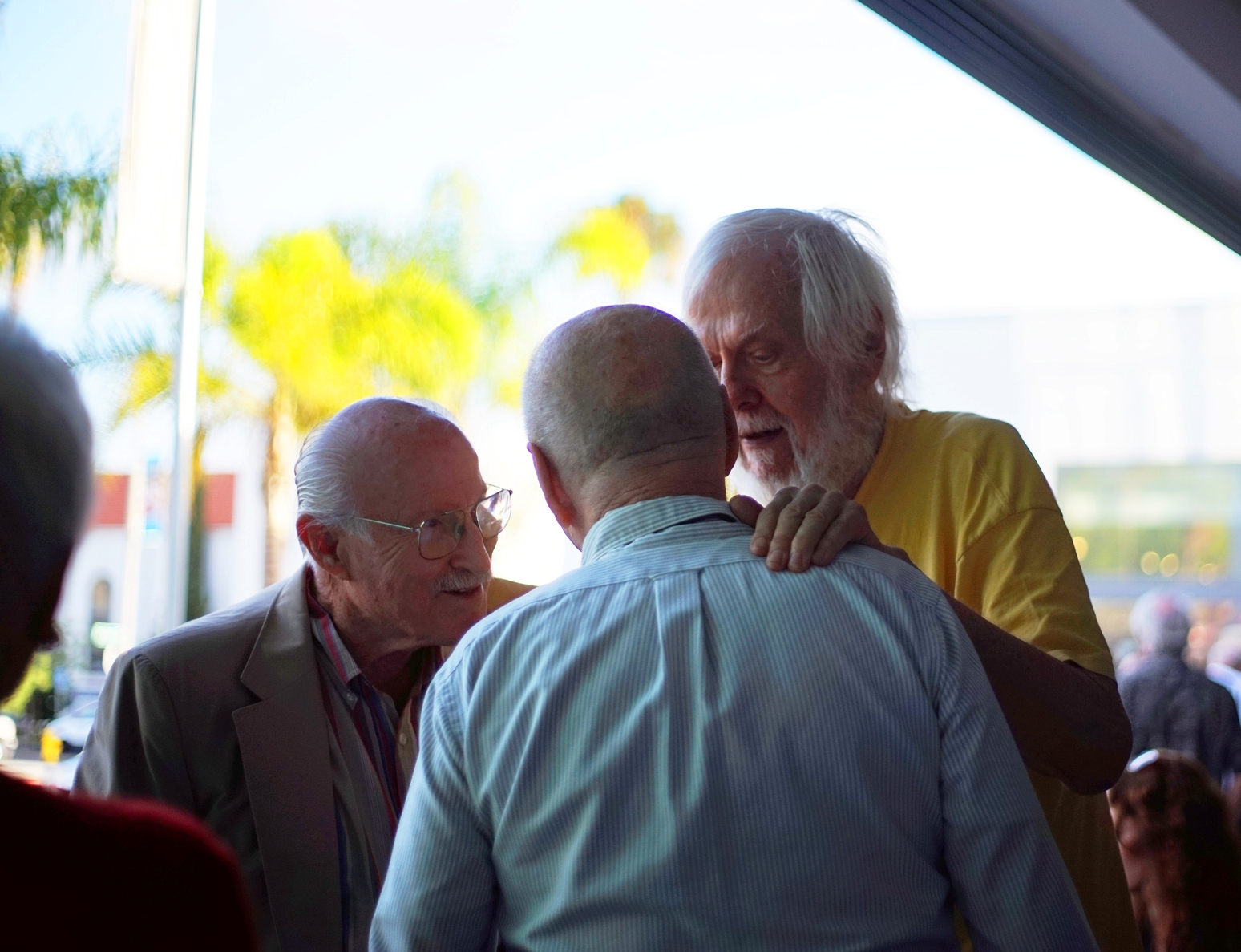 Spitting In The Wind - Opening reception photo by Edwin Negado
