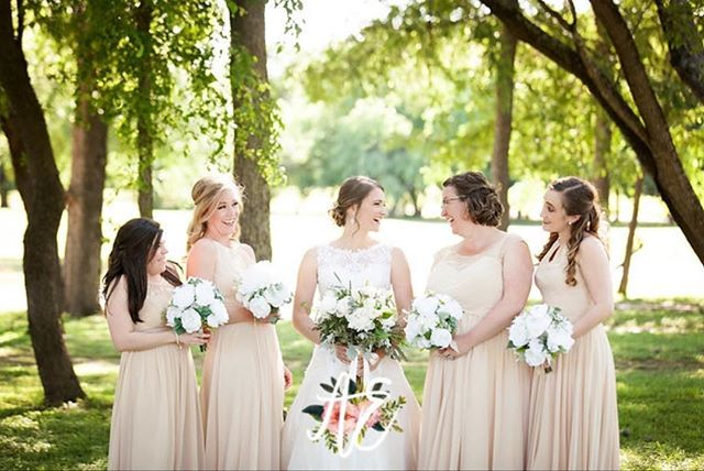 """""""A best friend is like a four leaf clover: hard to find and lucky to have! -unknown  We still have a few openings for 2018/2019 weddings!! Book today!! Link in bio!"""