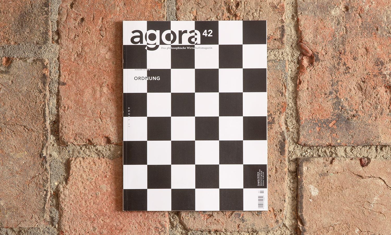 """Die zweite Ausgabe 2018 des philosophischen Wirtschaftsmagazins """"agora42"""" widmet sich dem Thema Ordnung."""