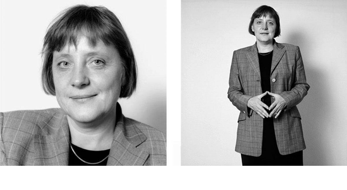 © Herlinde Koelbl: Spuren der Macht, Angela Merkel 1998