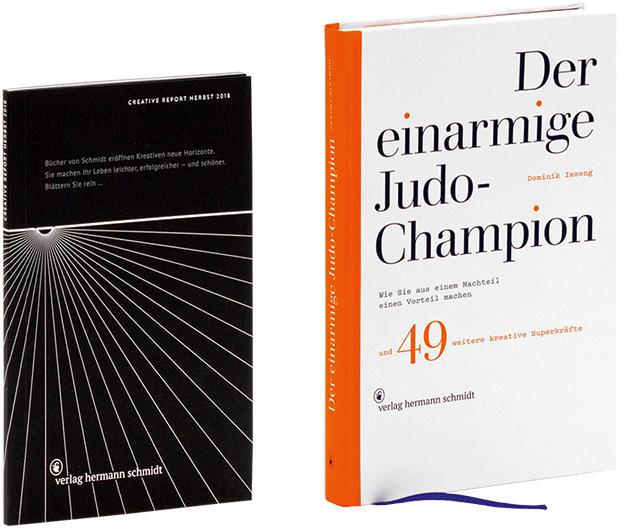 """""""Creative Report Herbst 2018"""" und """"Der einarmige Judo-Champion"""""""