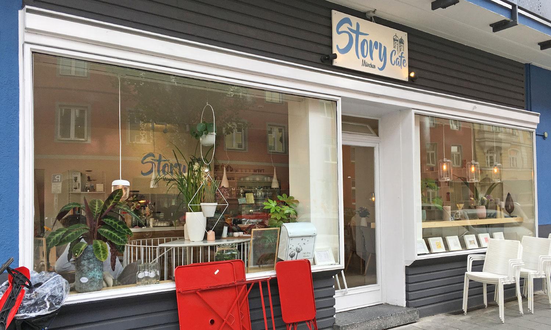 """Neuentdeckung in Schwabing: Das """"Story Cafe München"""" von Charlene Chang."""