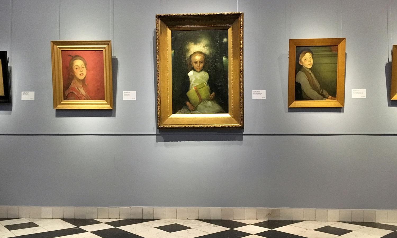 Kinderportraits von Jacobus van Looy.