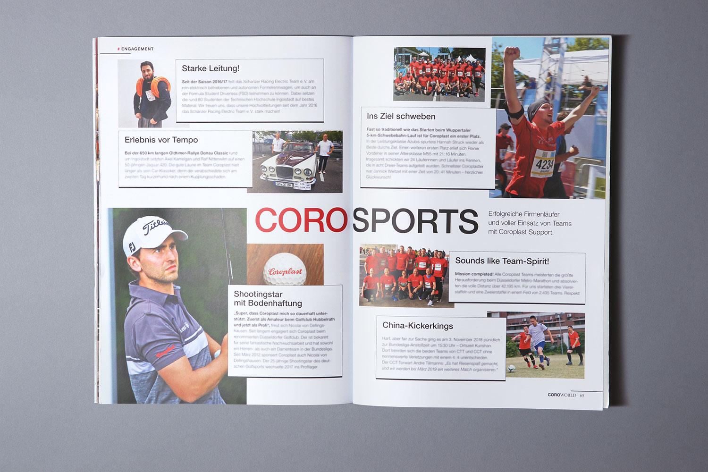 CoroWorld, Mitarbeitermagazin