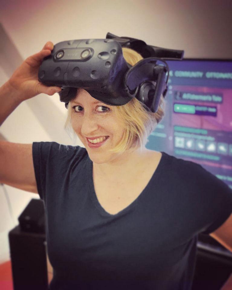 Pola Weiß bloggt über VR-Erlebnisse.