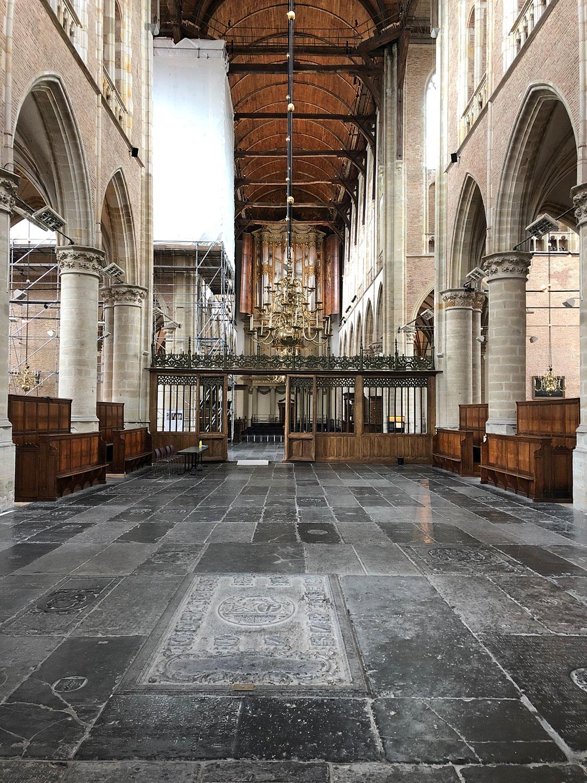 Mittelschiff der Grote Kerk