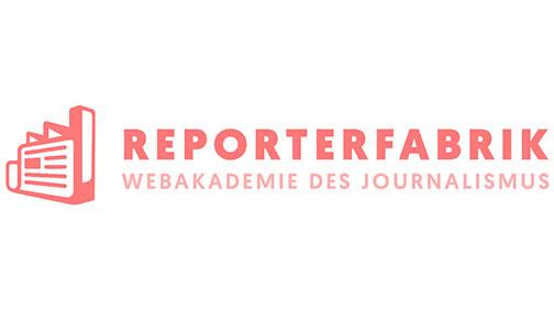Reporterfabrik – die Webakademie