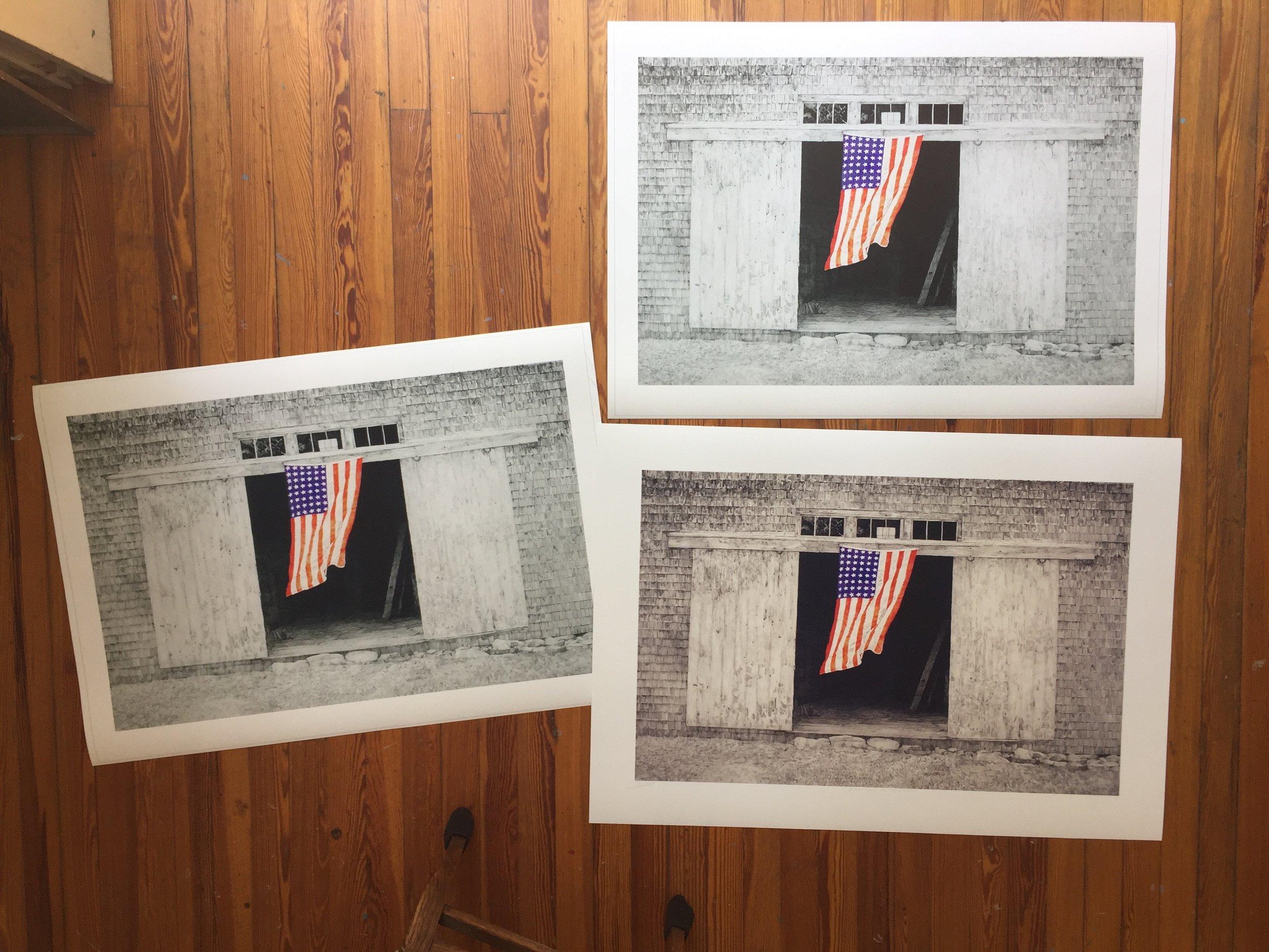 Proofing prints