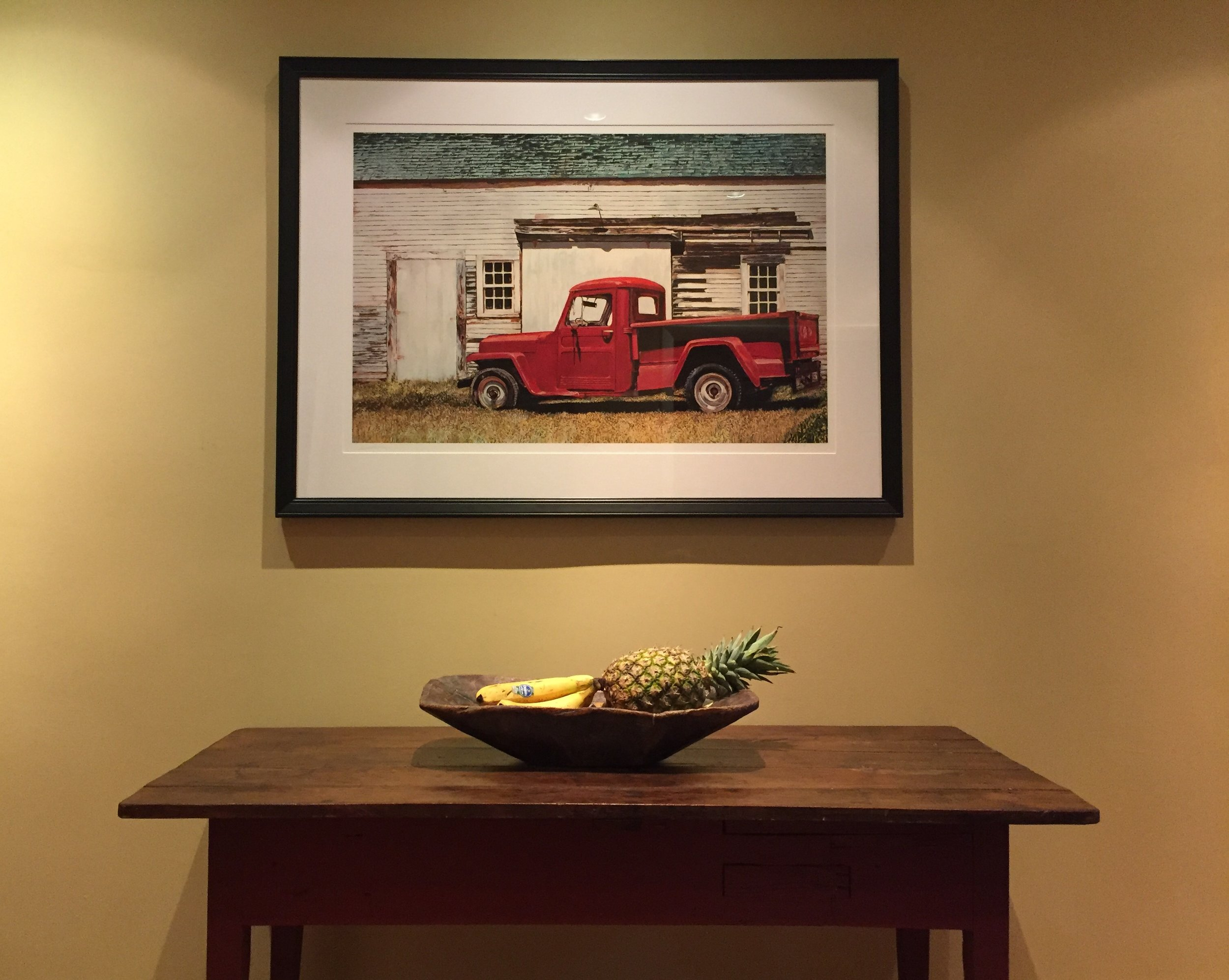 Thornton's '48 Willy Jeep  Archival print 27 x 39