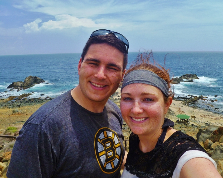 Honeymoon photos! We spent a week in Aruba and it was relaxing, beautiful, and amazing. (Also, holy hair Caitlin!)