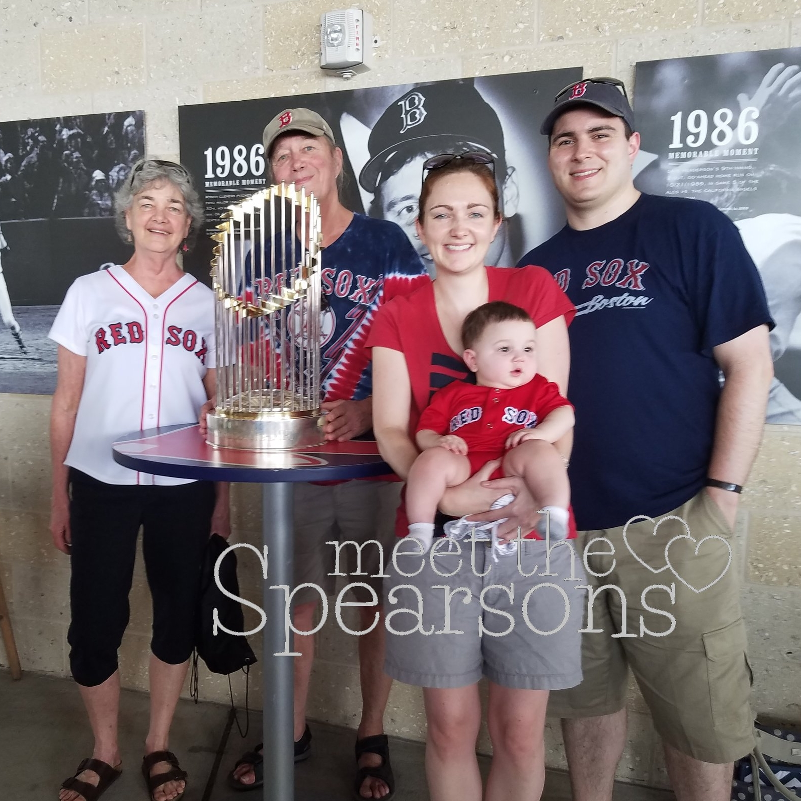 Red Sox Baby World Series Trophy