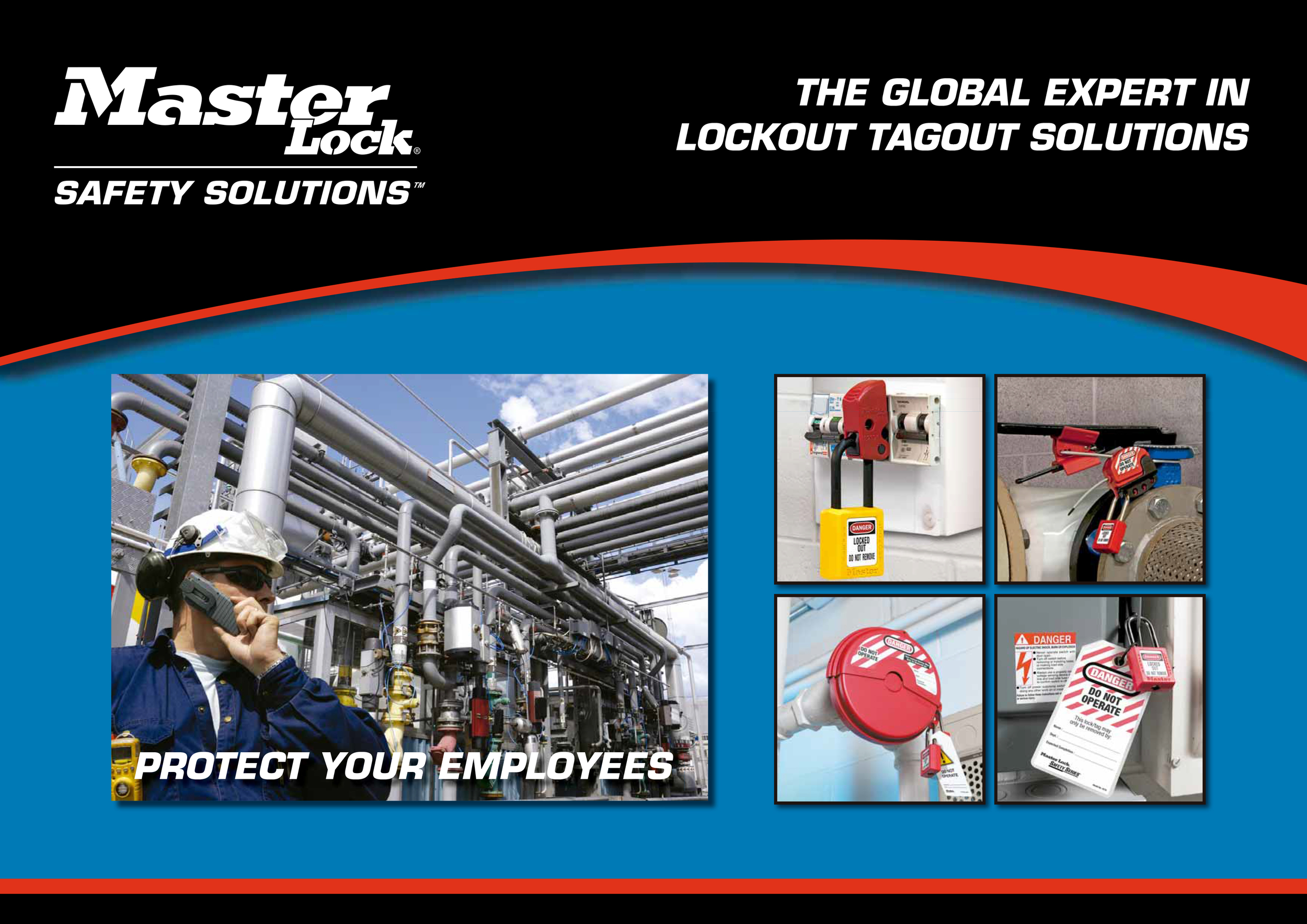 Click to download the MasterLock Safety catalogue in PDF.