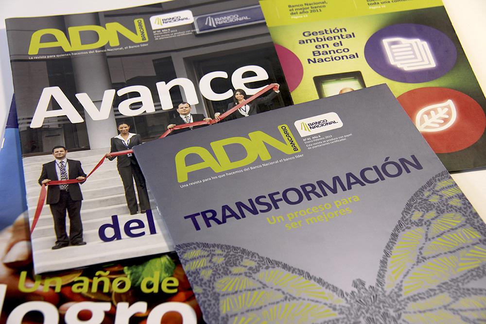 Banco Nacional  Revista ADN