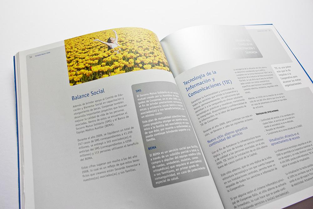 Coopenae  Informe anual