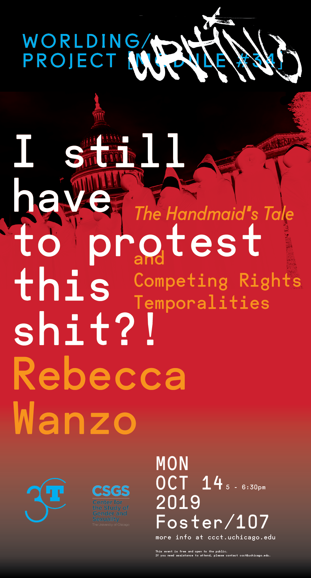 "Copy of Rebecca Wanzo: ""I Still Have to Protest This Shit?! The Handmaid's Tale and Competing Rights Temporalities"""