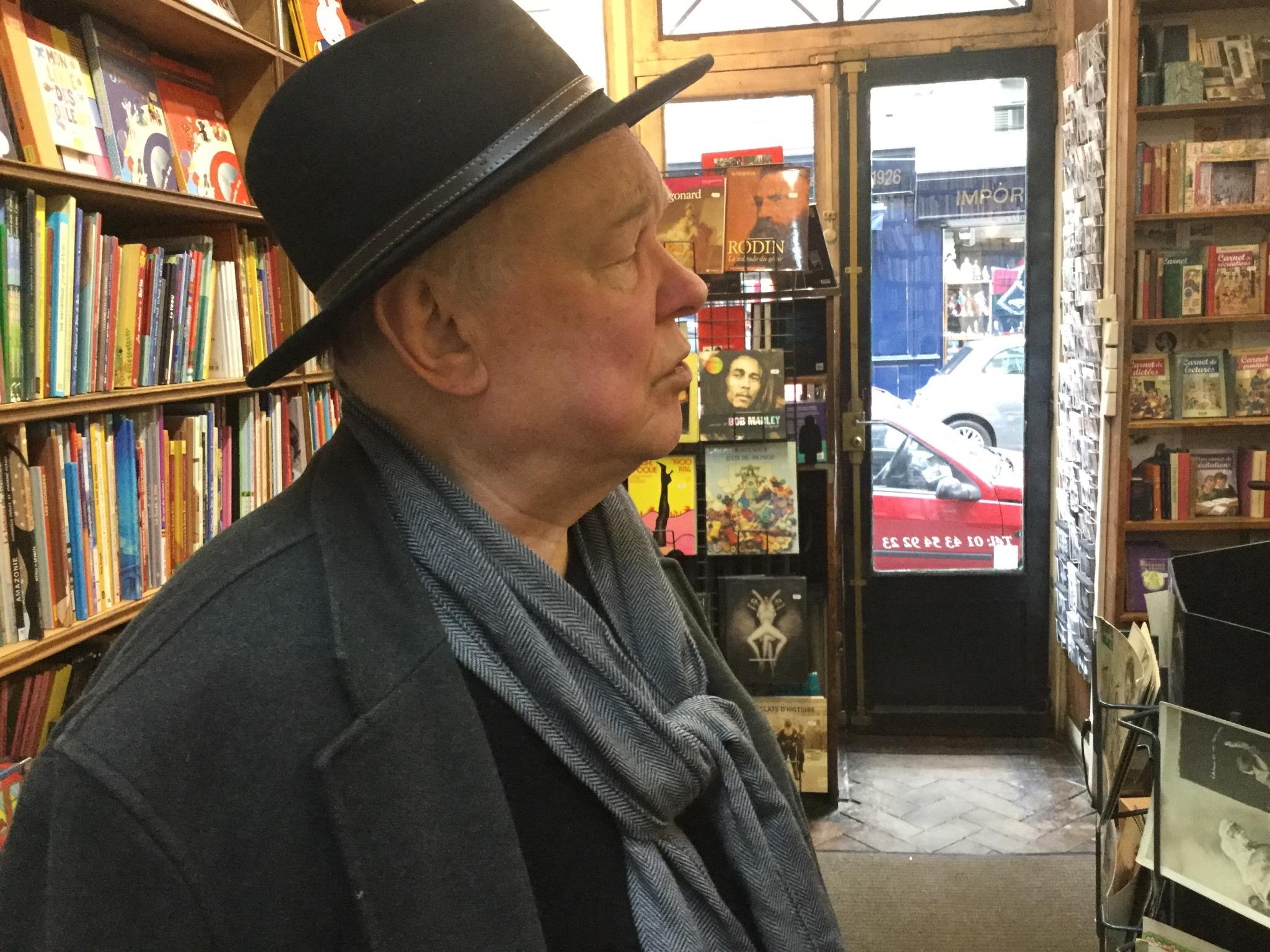 John at San Francisco Books, 6th arrondisement.